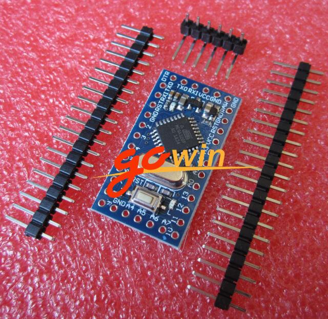 10pcs design Pro Mini atmega328 5V 16M Replace ATmega128 Arduino Compatible Nano