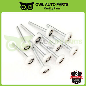 10-Pack-2-034-Nylon-Garage-Door-Roller-6200ZZ-Ball-Sealed-Smooth-Bearing-4-034-Stem