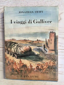 1945-SWIFT-I-VIAGGI-DI-GULLIVER-Einaudi-RARA-ED-CON-SOVRACOPERTINA-ORIG