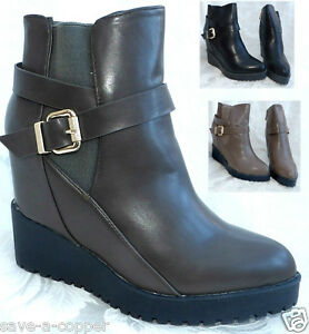 NEW-LADIES-WOMENS-ANKLE-HIGH-WEDGE-HEEL-GUSSET-BOOTS-SIZES-3-8-FREE-P-amp-P-WD002