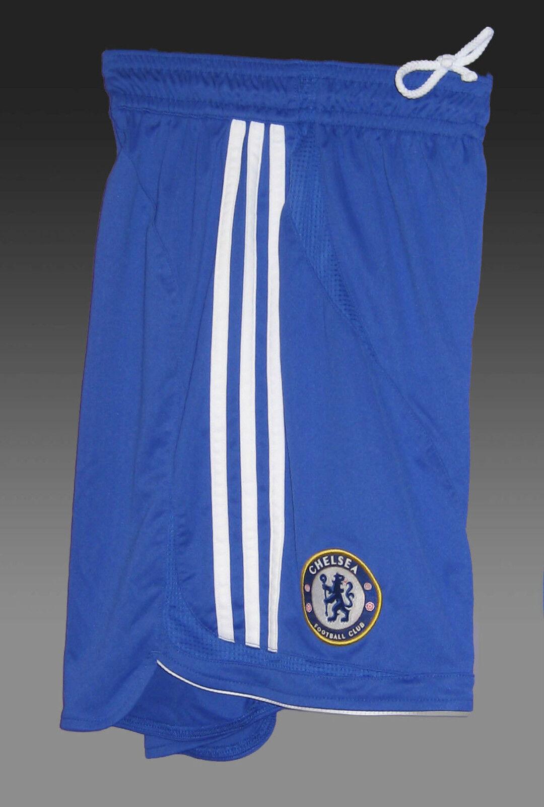 Vintage Adidas Chelsea Shorts de Fútbol Jugador Edición bluee 107cm