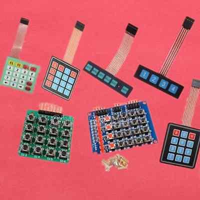 Matrix Keyboard Array Membrane Switch Keypad MCU Accessory Board for Arduino