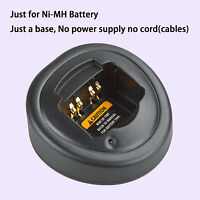Base No Power Supply For Motorola Ex600 Walkie Talkie Ni-mh Battery Charger