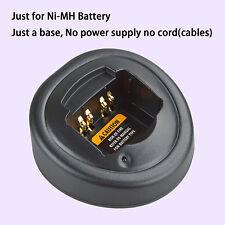 Base no power supply for Motorola GP340 Walkie Talkie Ni-MH Battery Charger