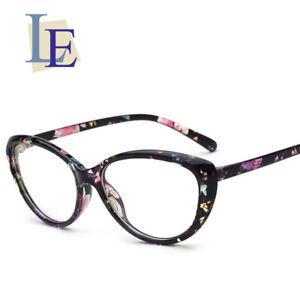 44e27e16a6f5 LE Flower Cat Eye Myopic Eyewear Frame Sexy Glasses Prescription Rx ...