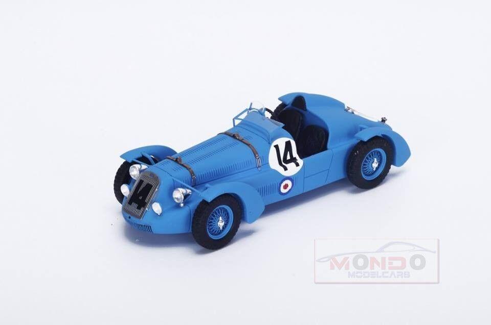 Delage D6 S Spider  14 24H Le Mans 1949 L.Gerard F.Godia Fales Spark 1 43 S2729