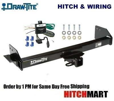DRAW TITE TRAILER HITCH & WIRING FOR 1997-2004 MITSUBISHI ...