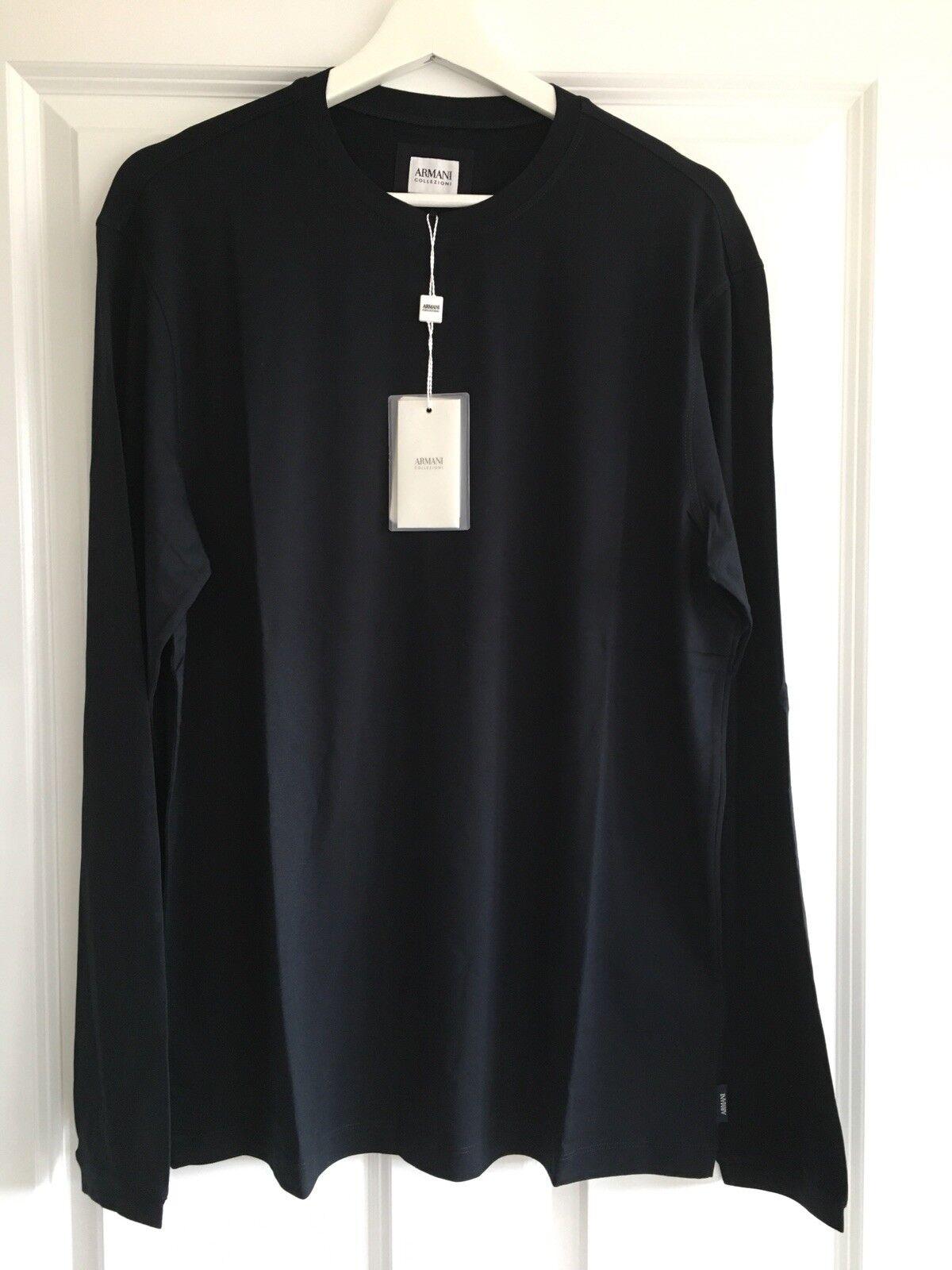 Armani collezioni mens Long Sleeve T-shirt XXL