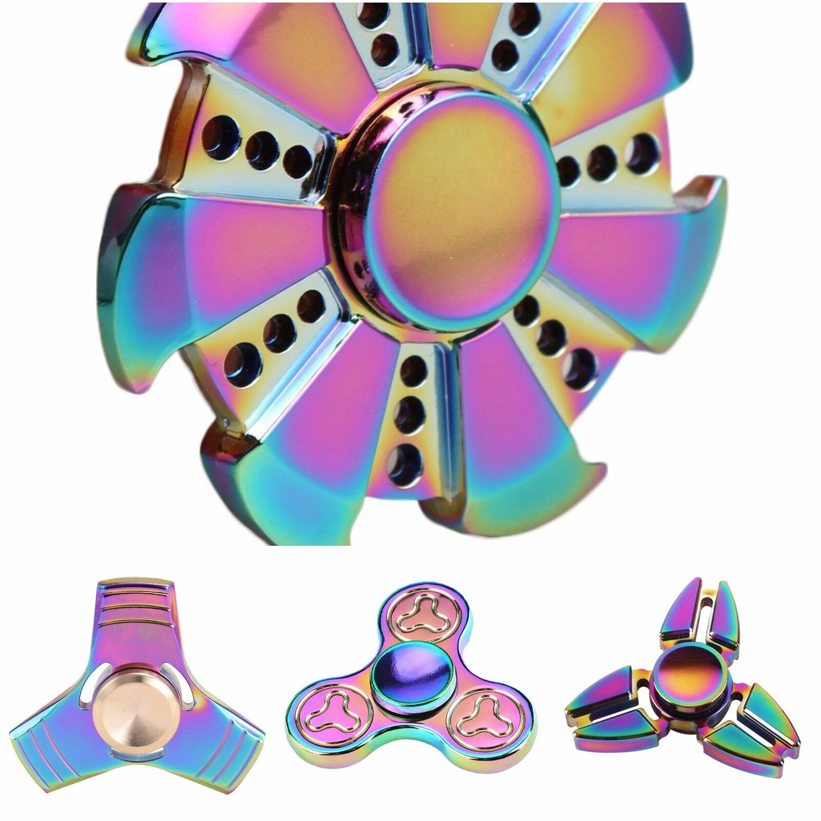 JOBLOT Wholesale intranquilo Spinner Mano Dedo Bar ADHD Enfoque De Mesa De Bolsillo Lote De 10