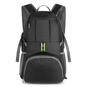 Multifunction Waterproof Travel Lightweight Backpack Shoulder Laptop Bag 35L US