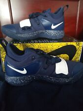 huge discount d2b2d 8909c Nike PG 2.5 Paul George Black Grey Blue Basketball Shoes Sz ...