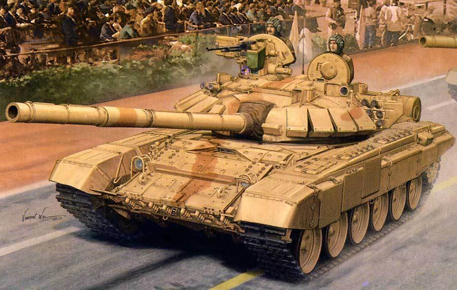 Trumpeter Indian T-90S Mbt + Etched Parts & Decals 1 3 5 Model Kit 90 90C India