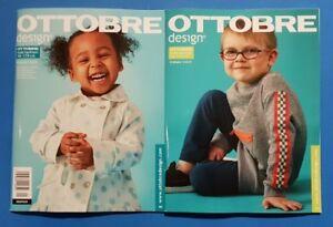Ottobre Kids Fashion Primavera 1/2019 dimensioni 50-170cm con unbenutzem schnittm.!!!