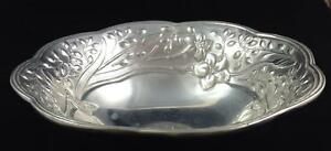 Lenox-BUTTERFLY-MEADOW-Metal-Serveware-12-034-Round-Bowl-GOOD-CONDITION