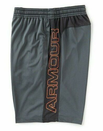 Under Armour Men/'s Pitch Gray UA MK-1 Woodmark Athletic Shorts