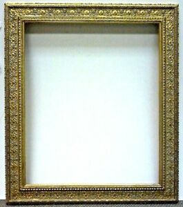 20 X 28 Ornate Rococo Style Gold Leafed Frame Standard Sizes Ebay