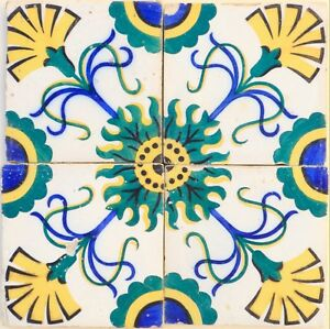 Portuguese Tiles 19th Century