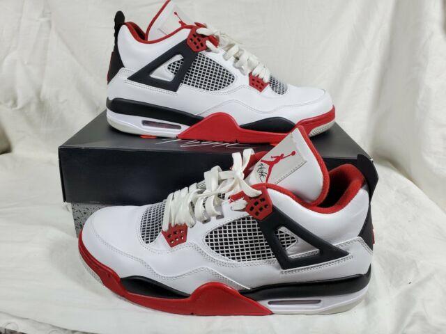 Size 6 - Jordan 4 Retro Fire Red 2012 for sale online   eBay