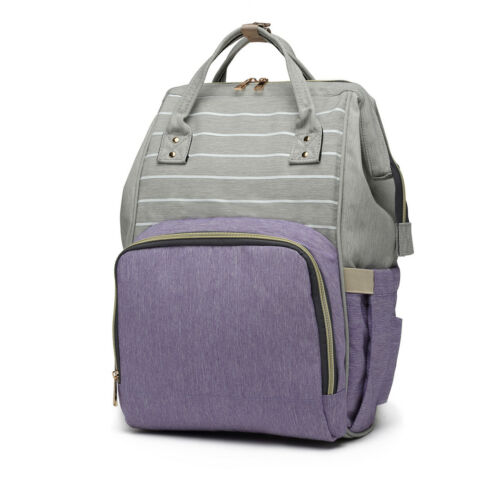 MUMMY BABY CHANGING BAG NAPPY DIAPER MATERNITY BACKPACK BAG WIPE CLEAN