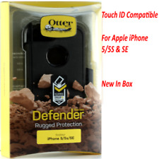 OTTERBOX Defender Series Case for iPhone SE 5s 5 Works With Touch ID Black