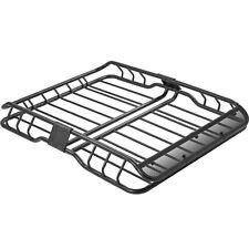 "47-1/4"" Roof Rack Basket Car Top Luggage Carrier & Wind Fairing"