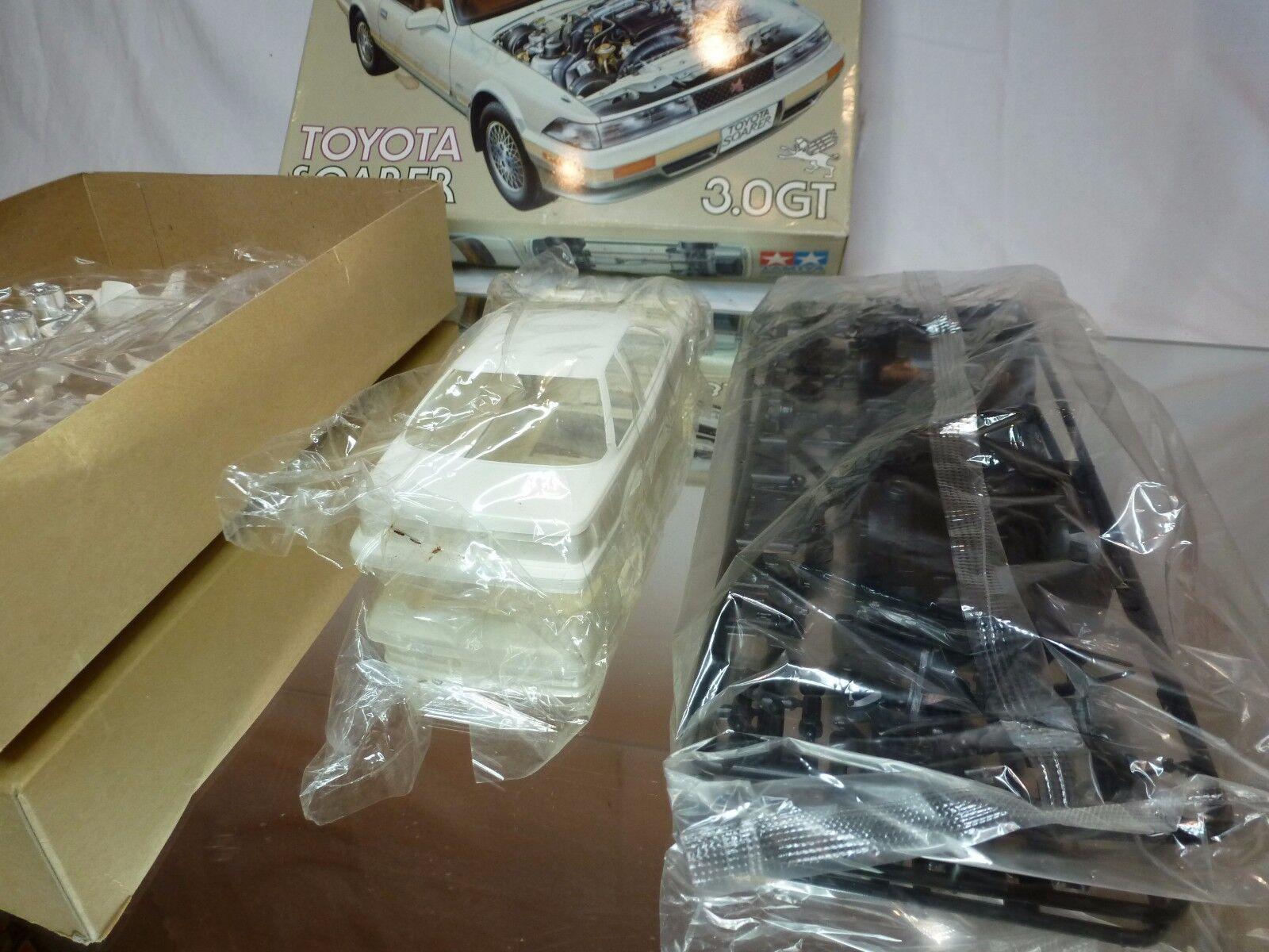 TAMIYA 64 KIT (unbuilt) TOYOTA TOYOTA TOYOTA SOARER 3.0 GT - WHITE 1 24 - RARE - NMIB 735958