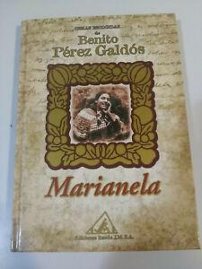 BENITO-PEREZ-GALDOS-MARIANELA-LIBRO-TAPA-DURA-EDICIONES-RUEDA-2001