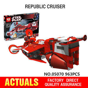 New Star War Series The Republic Cruiser Set Children Building Blocks Bricks Toy