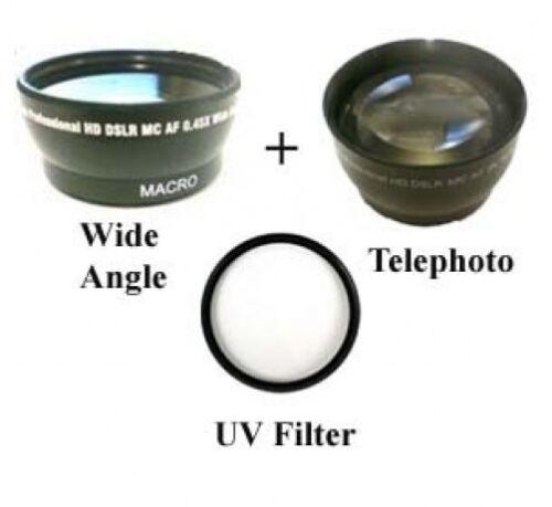Telephoto lens UV Filter Kit 30.5mm Wide angle Lens