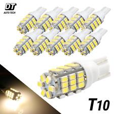 20x T10921194 Rv Camper Trailer 12v Led Interior Light Bulbs 42 Smd Warm White Fits Tacoma