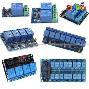 4 8 1 2 16 Channel Relay Module w// Optocoupler For PIC AVR DSP ARM