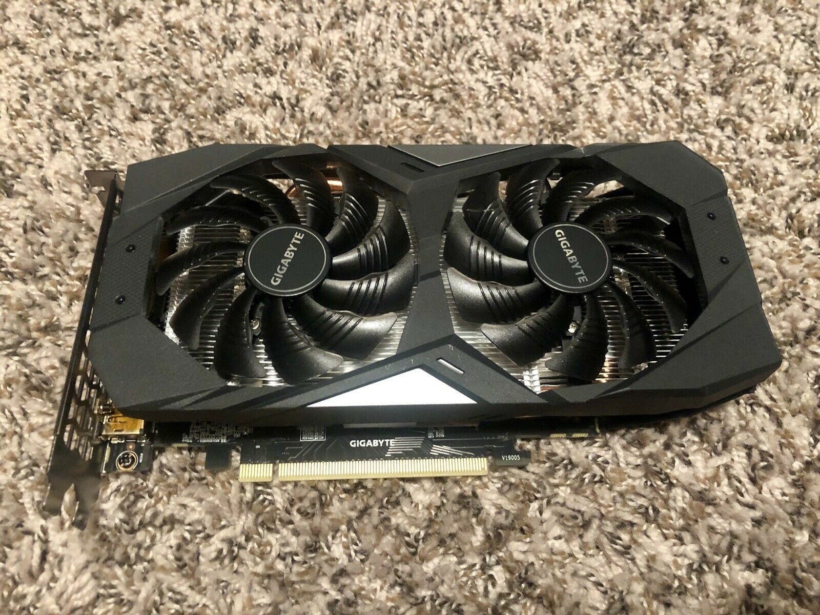 Gigabyte Geforce GTX 1660 OC 6G Graphics Card