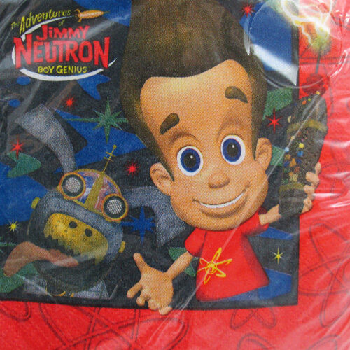 d9d819b7732 Jimmy Neutron Small Napkins (16ct) for sale online