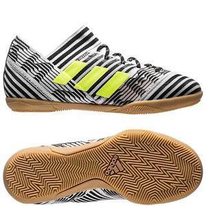 adidas Nemeziz 17.3 IC Indoor 2017 Soccer Shoes White   Black Kids ... ebe3bda80265