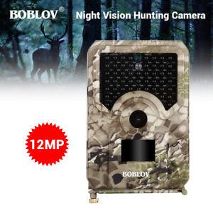 PR200-12MP-Night-Vision-Hunting-Camera-49Pcs-IR-Leds-Game-Wildlife-Trail-Camera