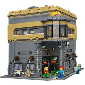 lego moc modular museum 5000 pcs custom model instruction only ebay