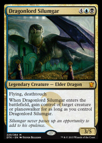 Dragonlord Silumgar Dragons of Tarkir Near Mint English -BFG- MTG Mag x1 1x