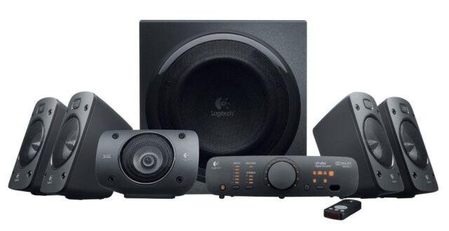 Wonderbaarlijk Logitech Z-680 Computer Speakers THX Certified 5.1 Surround Sound LX-41