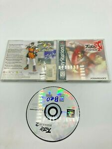 Sony-PlayStation-1-PS1-CIB-Complete-Tested-Bushido-Blade-2-Ships-Fast