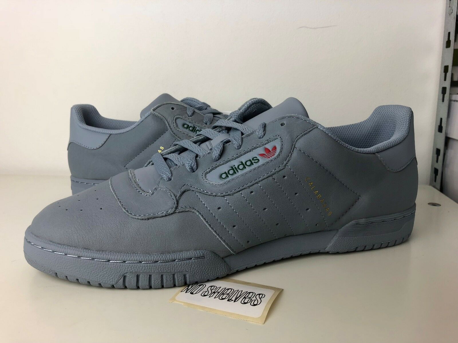 Adidas Yeezy Calabasas Powerphase Grey CG6422 Gray Kanye West size 4 12.5 us