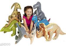 "6 Jumbo Inflatable 30"" Dinosaurs Party Decor Favor Lot Dino Big Large Decoration"