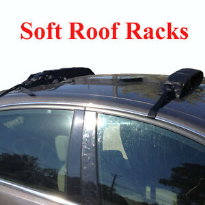 Image Is Loading Portable Removable Soft Roof Rack Fishing Kayak Snow