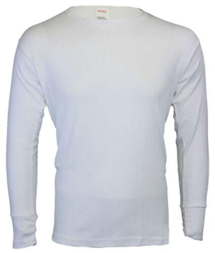 Mens Short Sleeves//Long Sleeve Vest Heat Trap Thermal Brushed Underwear T-Shirt