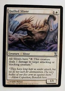 Rare 1x QUILLED SLIVER NM MTG Magic the Gathering Time SPiral