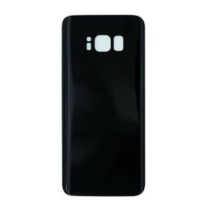 Samsung-Galaxy-S8-SM-G950F-Cover-Retro-Batteria-Copertura-Posteriore-Vetro-Nero