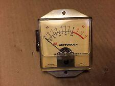 Vintage Simpson Motorola VU Meter Part 72C850956 Gauge