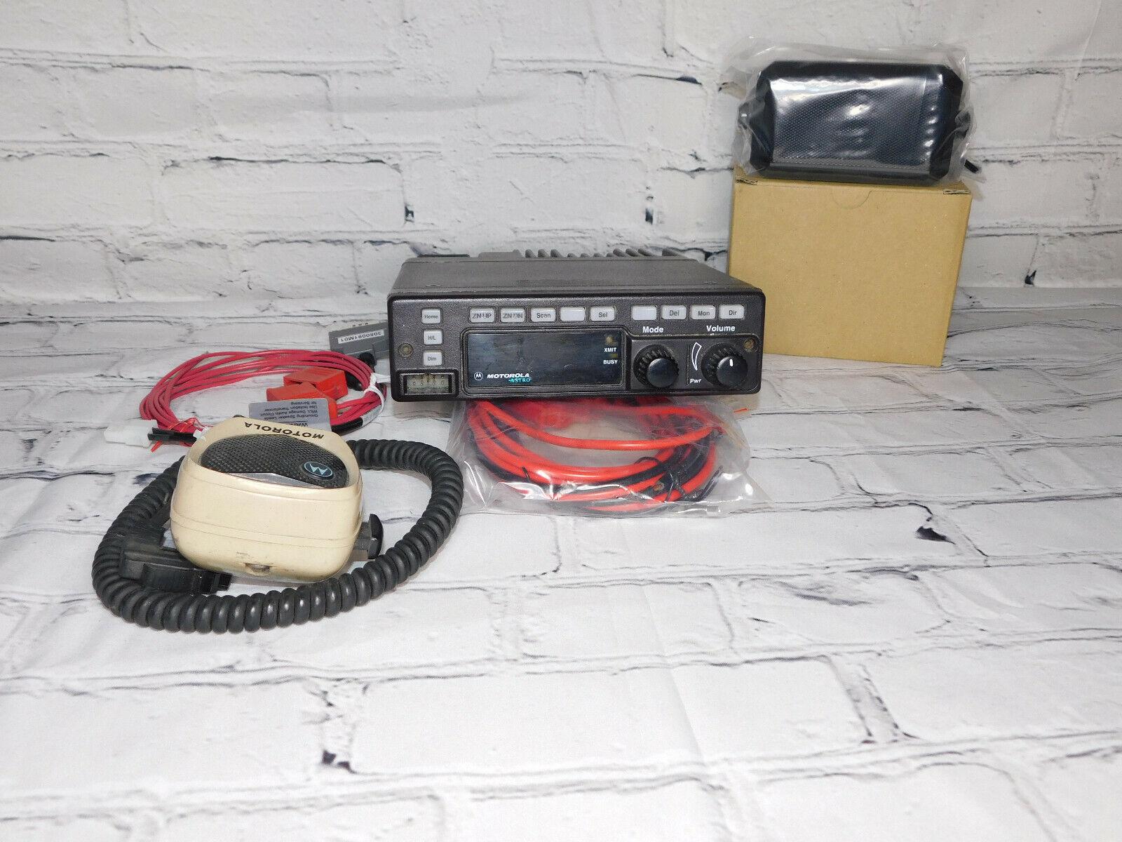 Motorola VHF Astro spectra W4 P25 Digital Mobile radio W/ AES/DES Encryption . Buy it now for 195.00