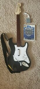 Wii Fender Stratocaster Guitar Wireless Dongle Strap & Rockband Game Harmonix