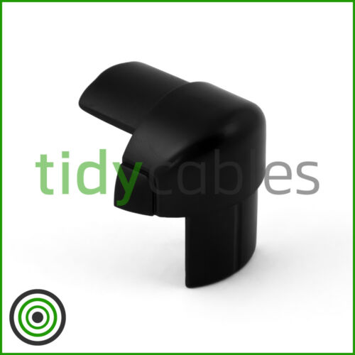 All Colours D-Line 30x15 External Bend for TV Cable Cover Wire Hiding Trunking