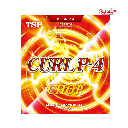 TSP CURL P-4 Long Pimple Table Tennis Rubber